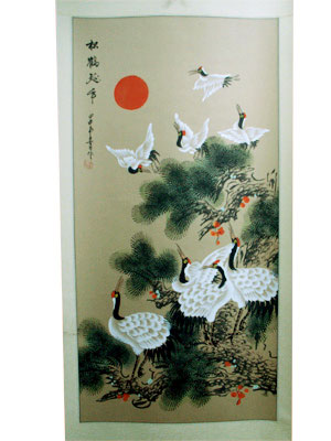 Chinese Painting -<br>Longevity