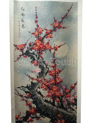 Chinese Painting -<br>Snow Plum Blossom